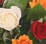 Cosulet trandafiri multicolori