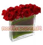 Mini aranjament rosu