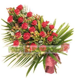 Trandafiri si hipericum